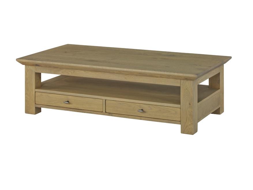 BKS meubels MWP eiken maatwerk salontafel