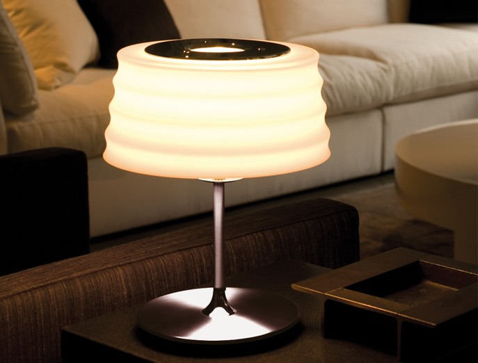 CHI tafellamp white Penta