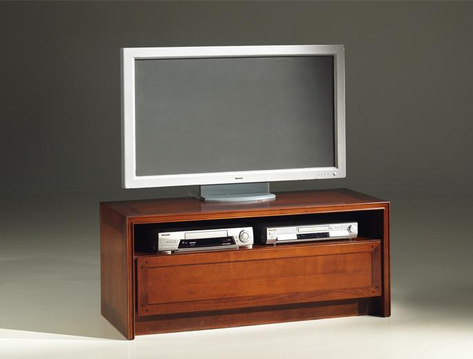 DeKoninck Chevalier kersenhouten tv meubel Hoogebeen