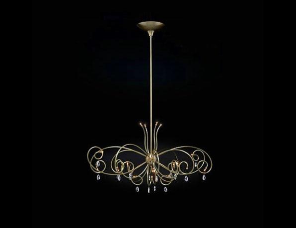 Florence kroon hanglamp special Ben Demmers BD design klassieke verlichting