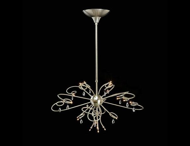 Jupiter kroon hanglamp rond Ben Demmers BD design klassieke verlichting