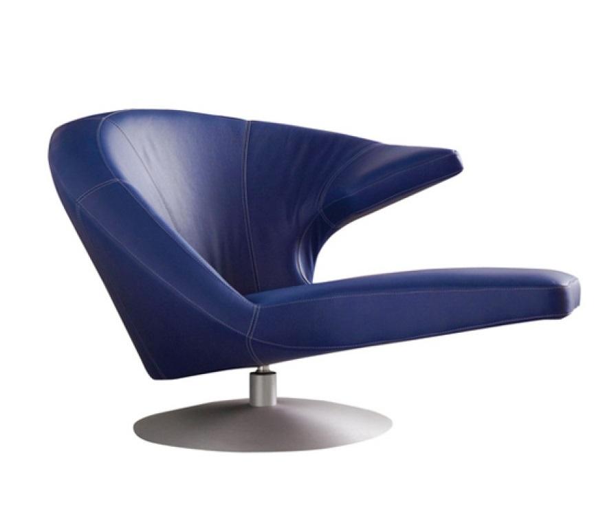 Leolux Parabolica fauteuil   Hoogebeen Interieur