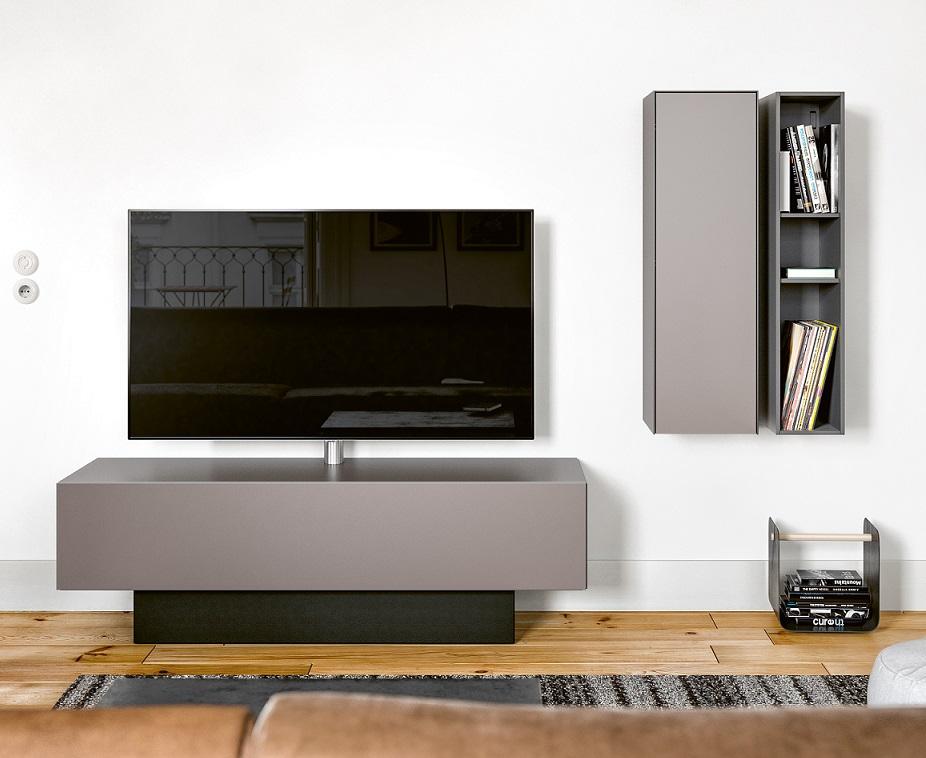 Spectral Brick tv meubel mat glas