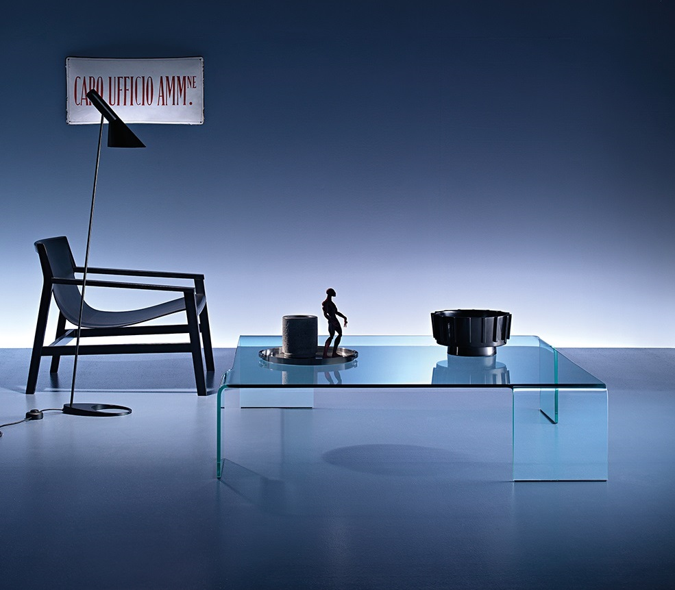 Fiam Neutra design glas tafel