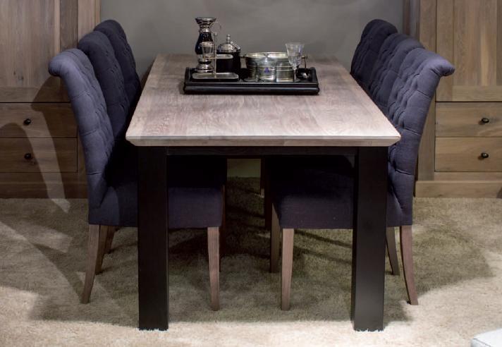 Eiken maatwerk tafels