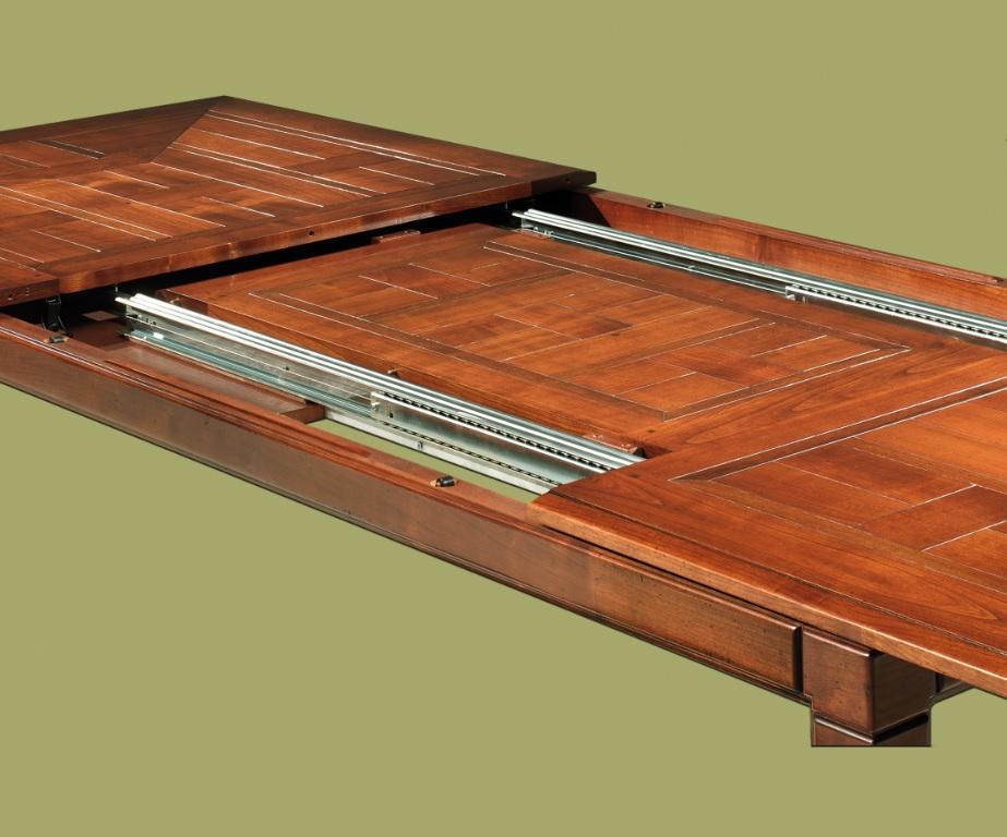 DeKoninck Chevalier klassieke kersen houten uitschuiftafel