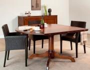 DeKoninck kersen houten ronde eettafel
