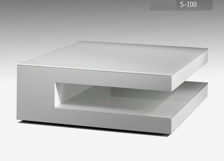 Karat meubelen salontafel S-100 wit