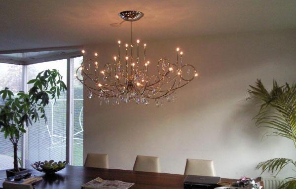 Lampadaire verlichting lampen