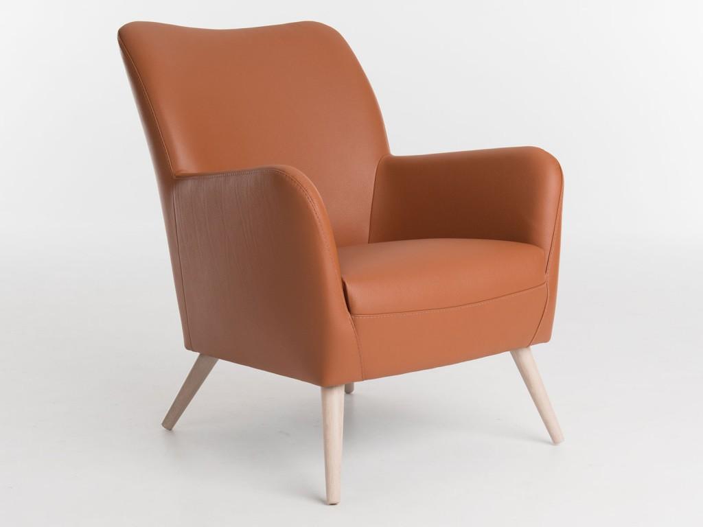 Bert Plantagie Bolero wood fauteuil