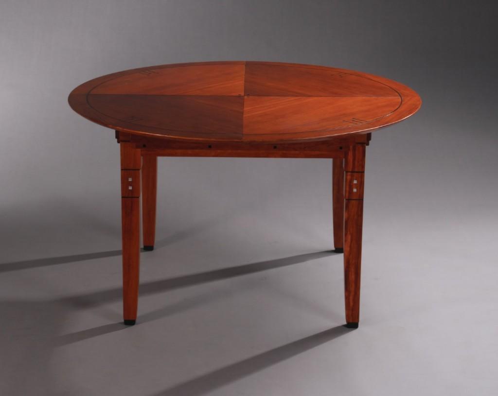 Art Deco ronde eettafel Craig