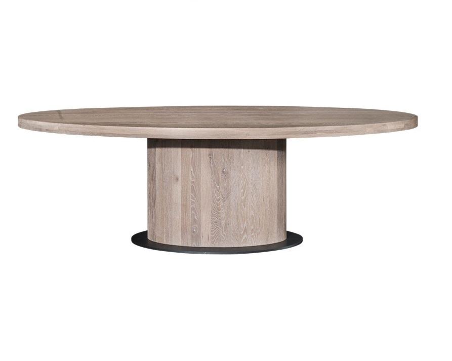 Hofstede Raanhuis ovale tafel