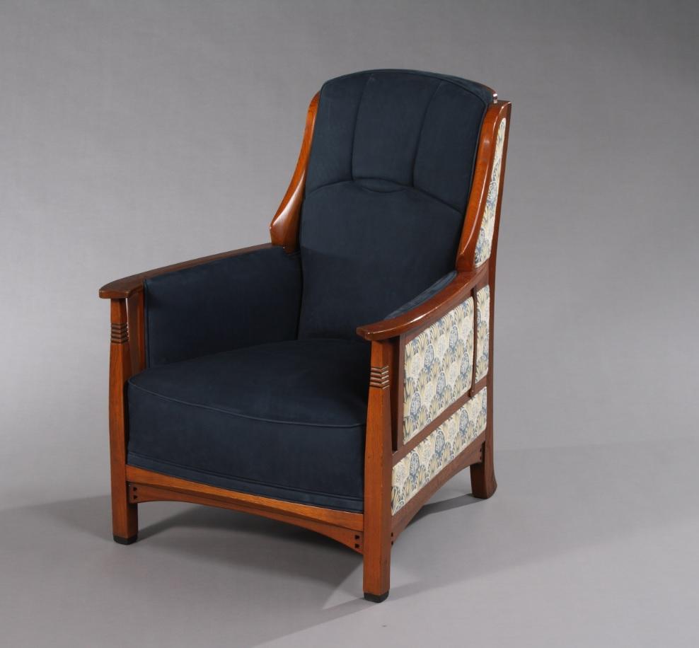 Schuitema Art Nouveau Jugendstil fauteuil