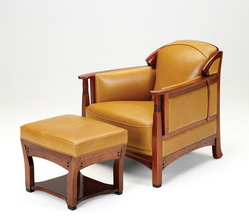 Schuitema Jugendstil fauteuil August