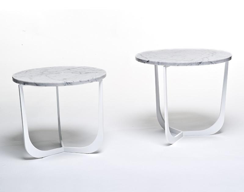 Metaform Spindel salontafel marmer   Hoogebeen Interieur