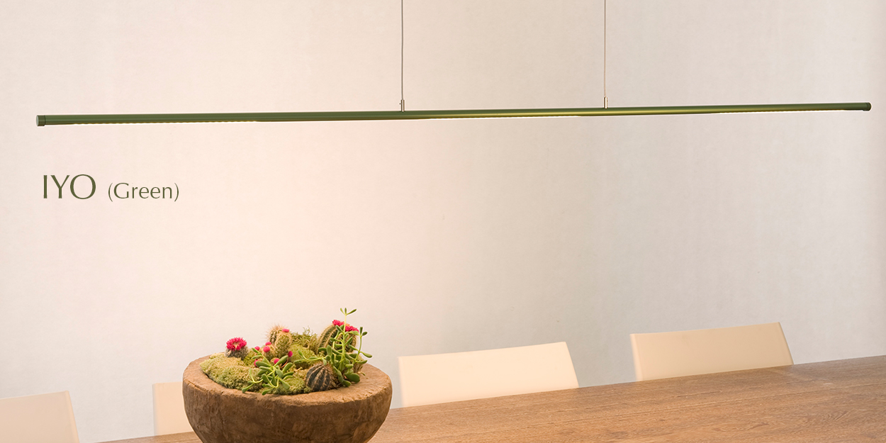 Ferrolight IYO Green hanglamp