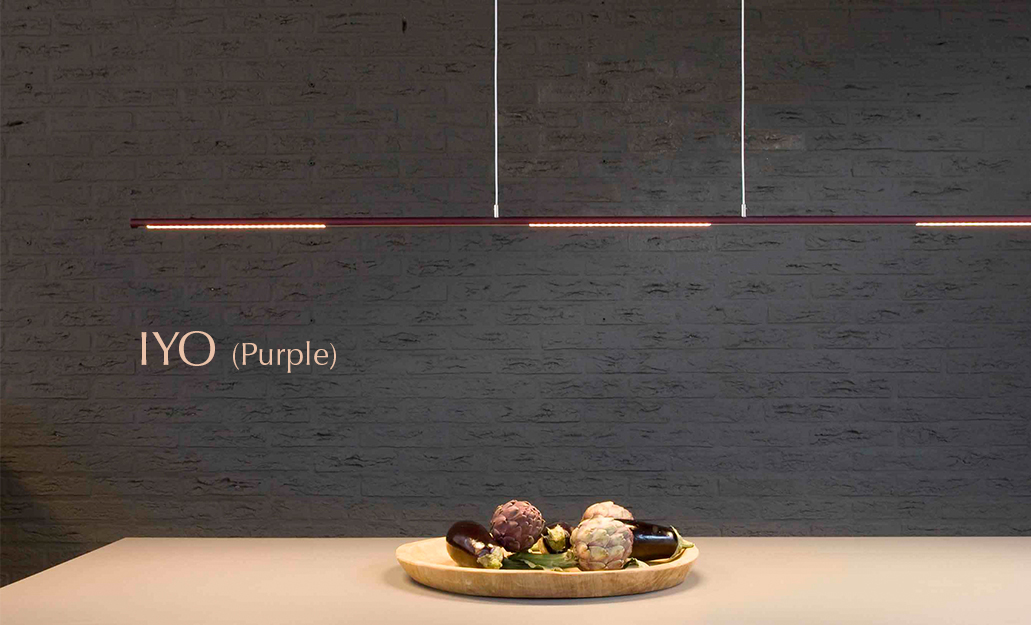 Ferrolight IYO Purple LED hanglamp