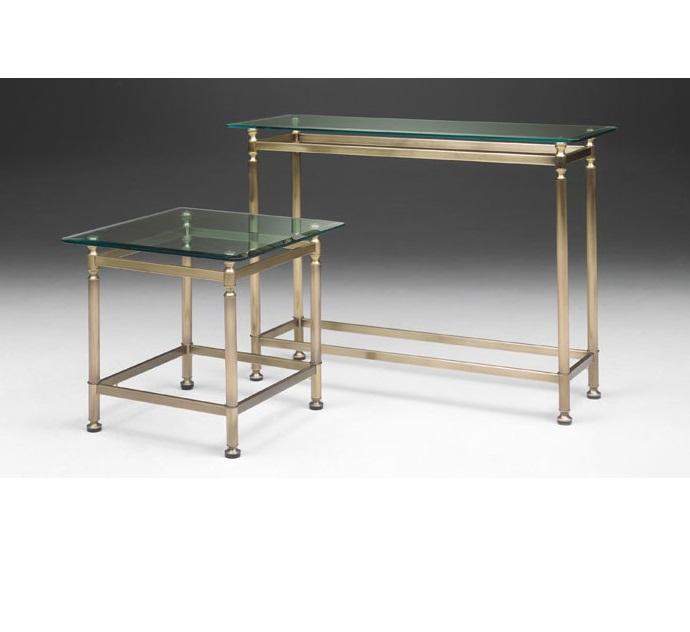 Select Design ronde salontafel glas brons   Hoogebeen