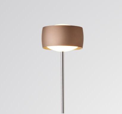 Oligo Grace vloerlamp Satin Copper