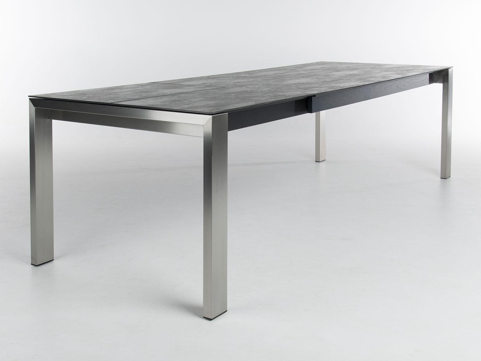 Uitschuifbare tafel keramiek