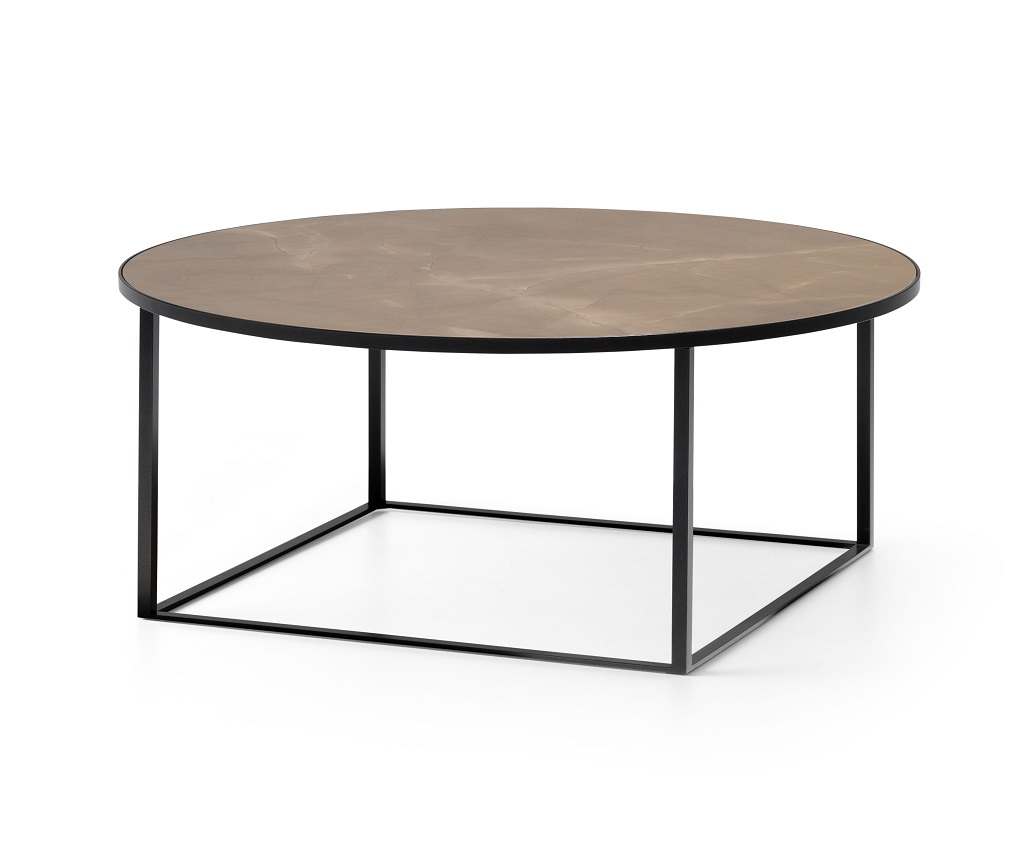 Leolux Prismo ronde keramische salontafel