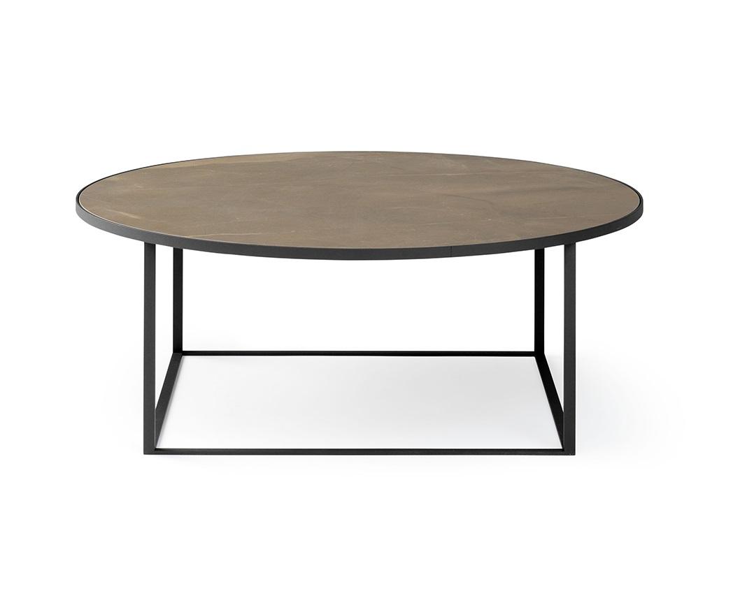 Leolux Prismo ronde salontafel keramiek