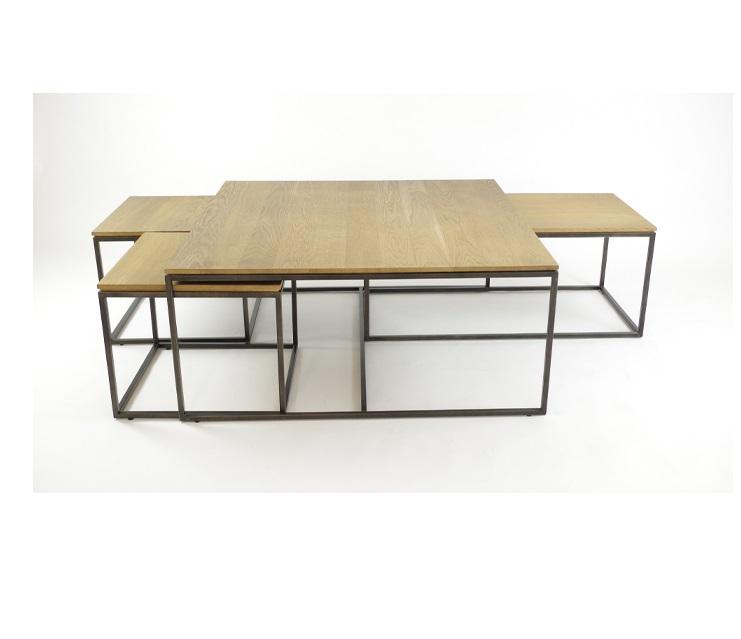 Select Design Rubix eiken salontafel