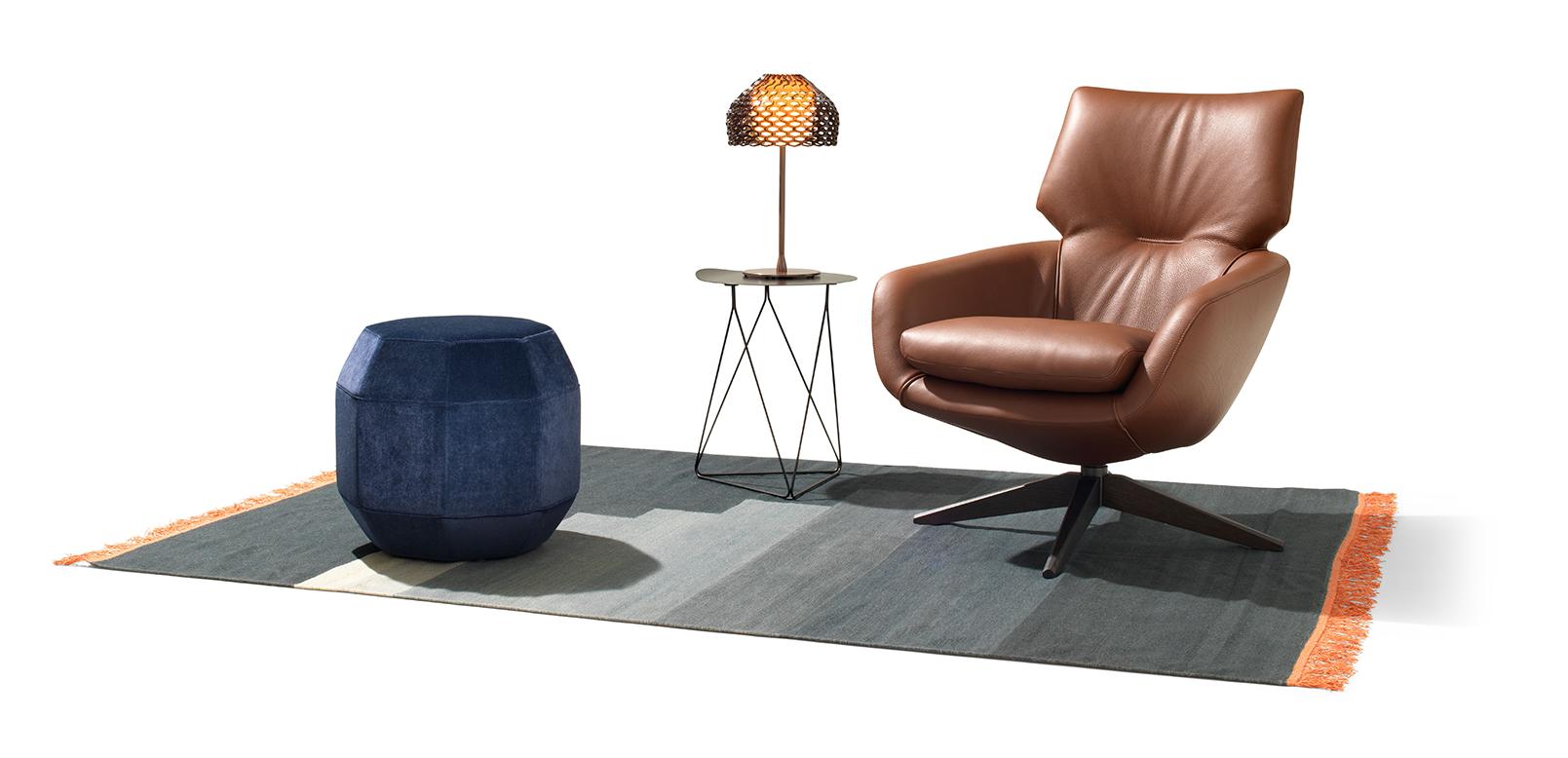 Leolux Lloyd design fauteuil