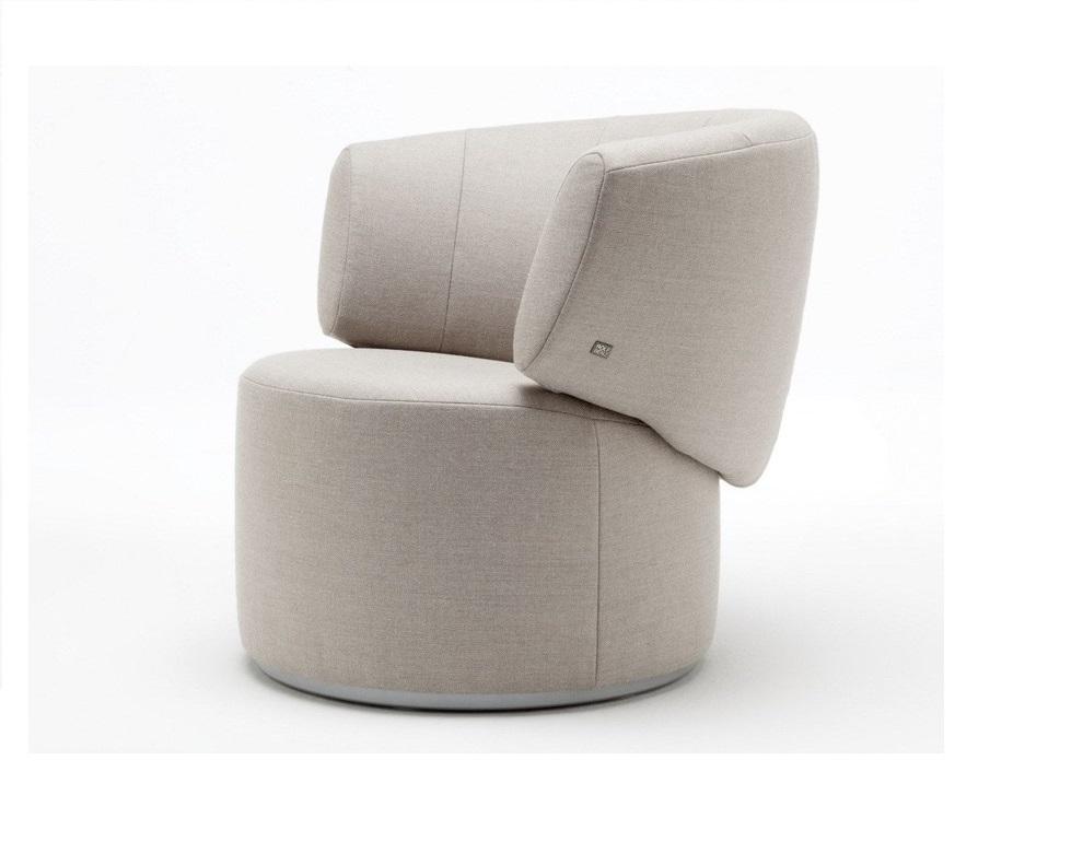 Rolf Benz 684 fauteuil stof