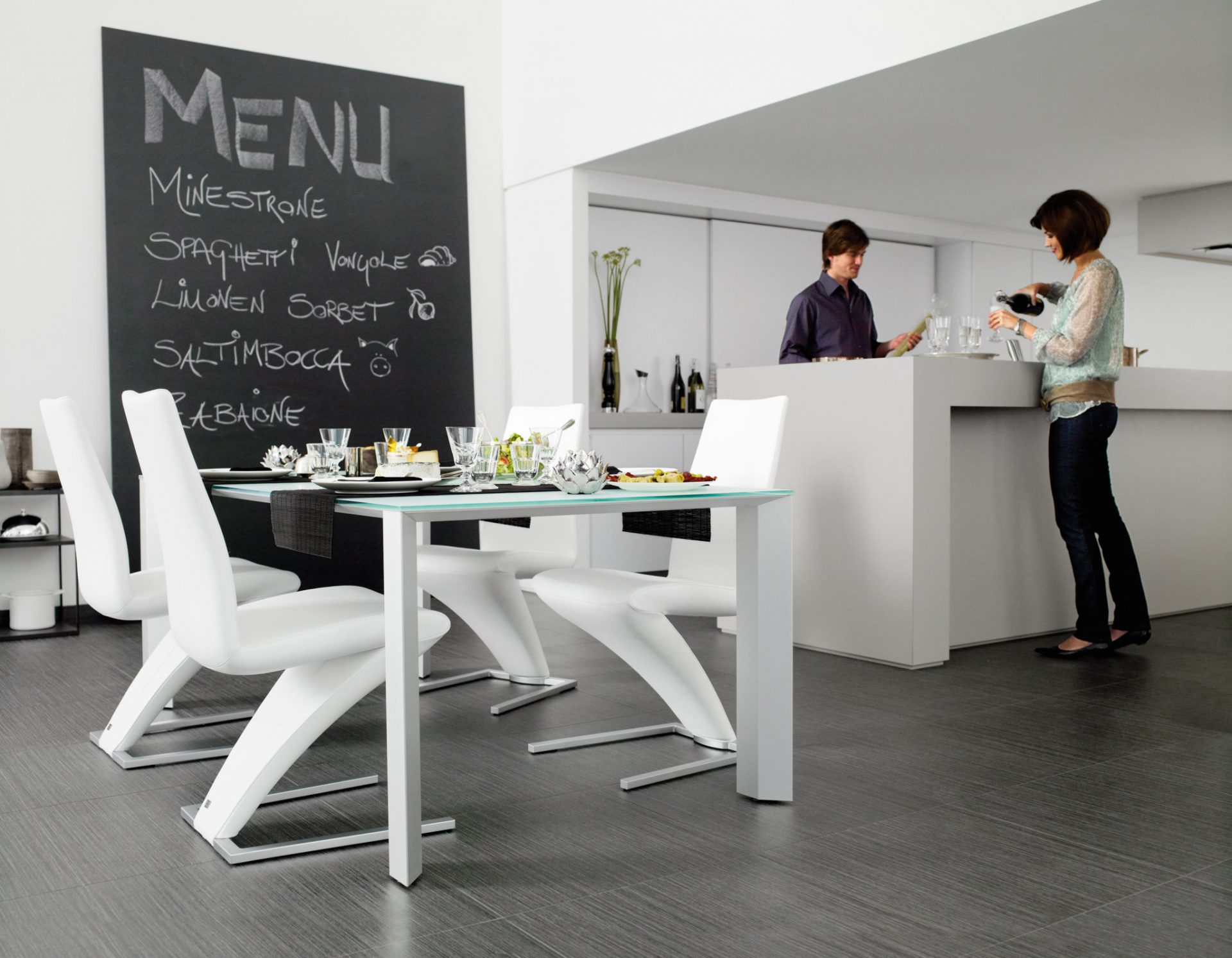 Rolf Benz 7800 dining chair
