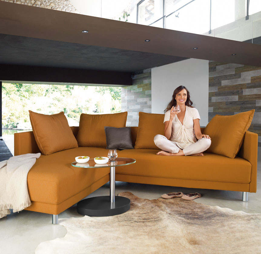 Rolf Benz Onda sofa bij Hoogebeen Interieur