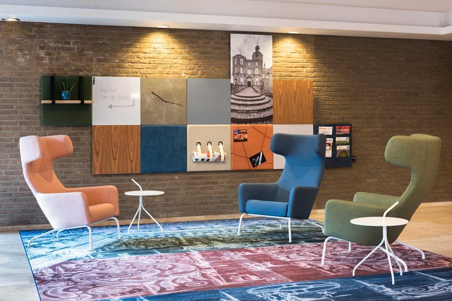 Dock Four office wall in Eindhoven