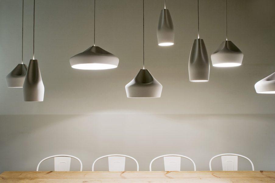 Marset Pleat Box Supension Light