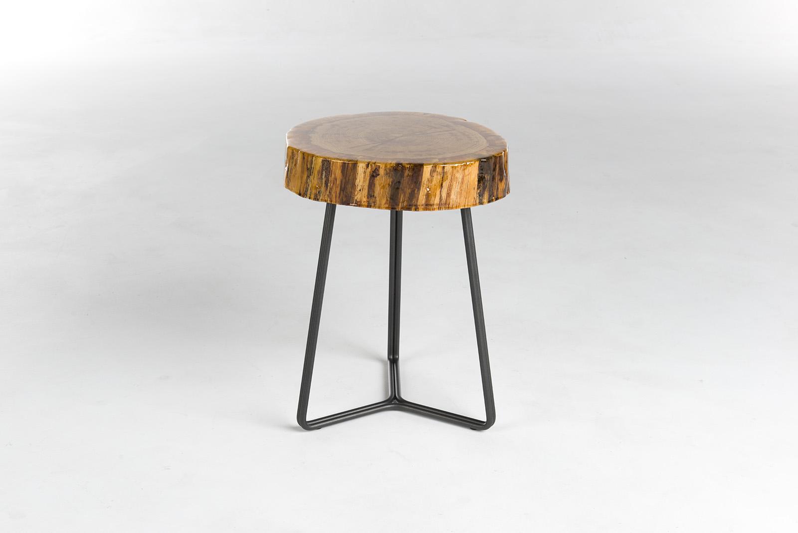 Bert Plantagie Trunk bijzettafel hout 1