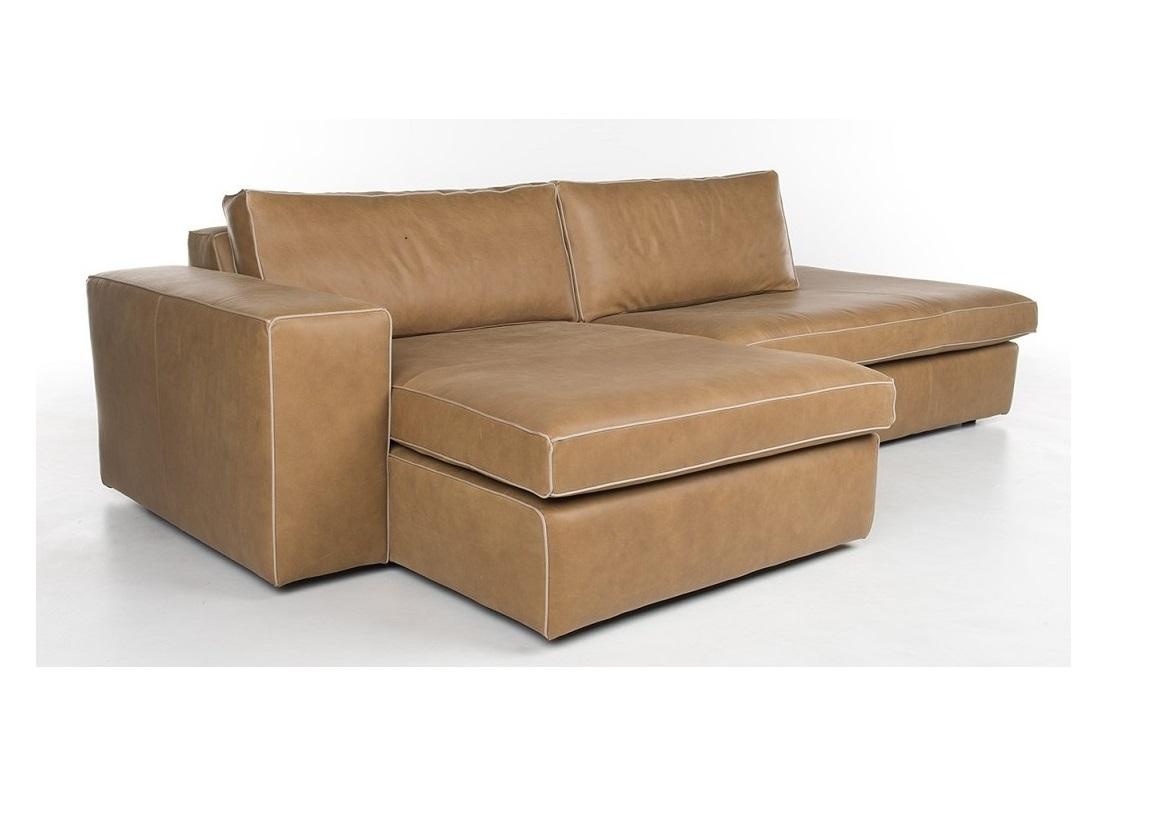 Bert Plantagie Brown Xenna lounge bank