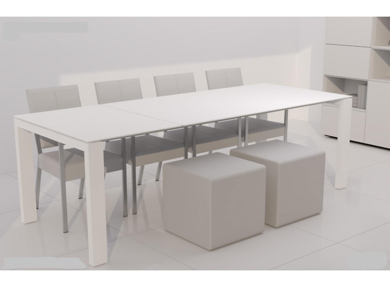 Karat uitschuifbare keramiek tafel