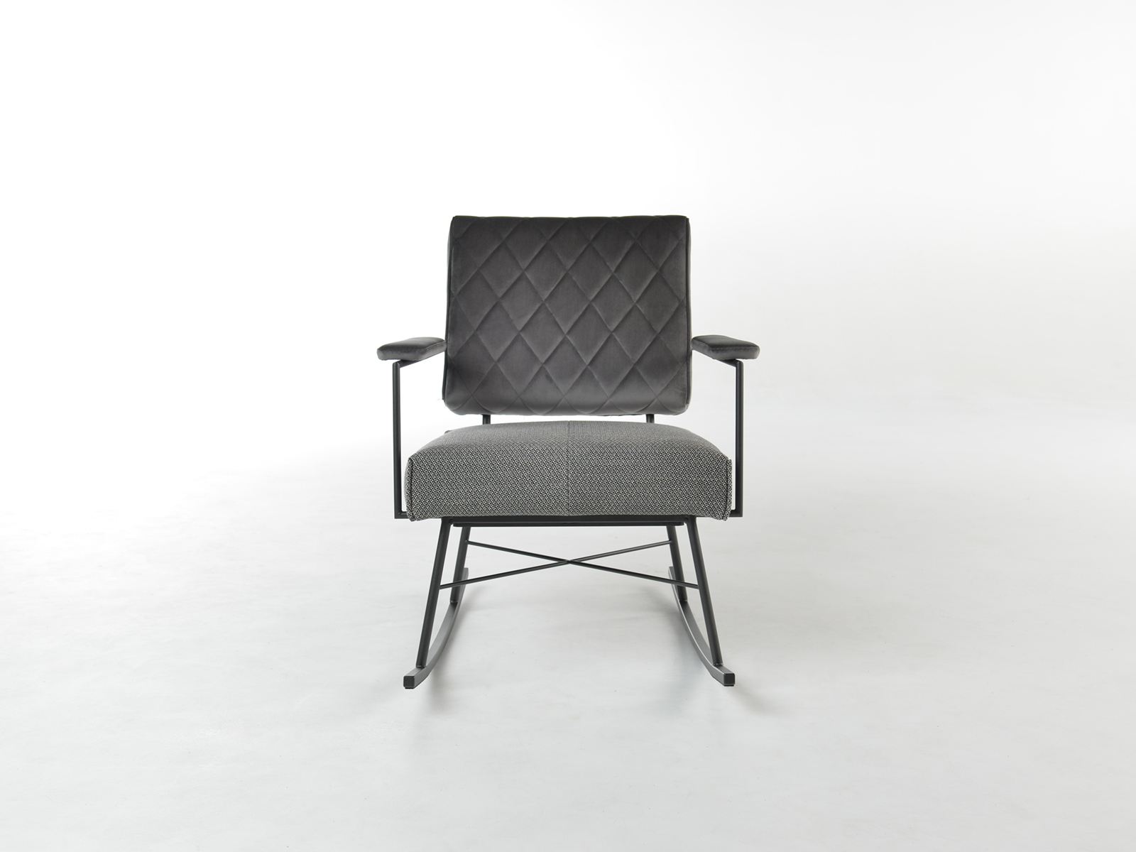 Bert Plantagie Brown Lotus Rocking fauteuil