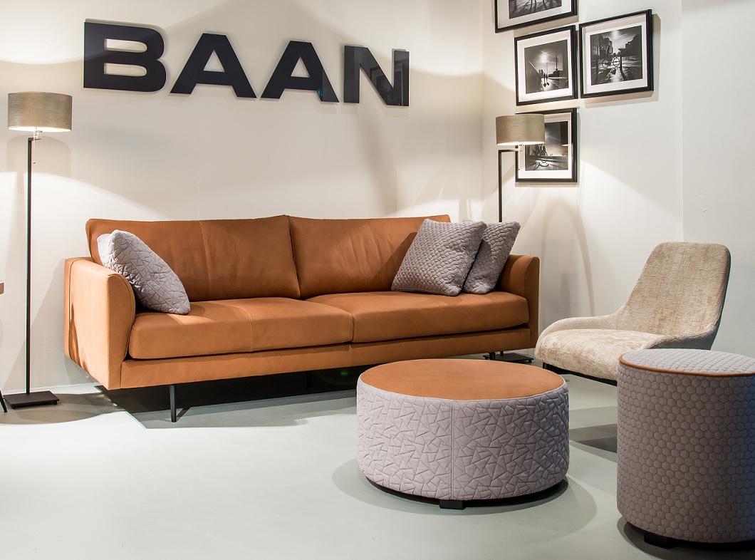 Baan Amigo bank leder